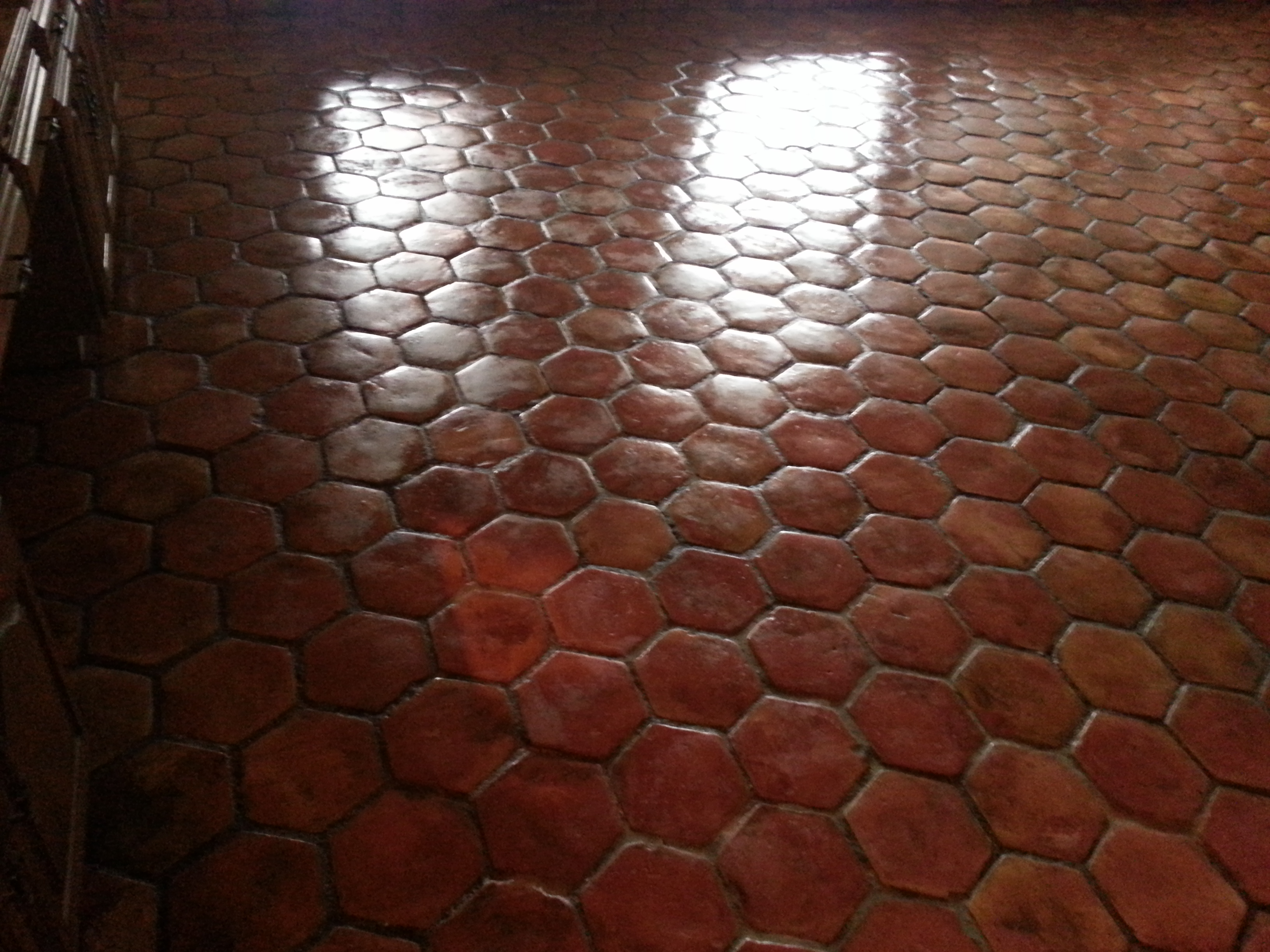 Saltillo Tile Cleaning and Sealed