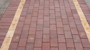 Street of Paver Stones