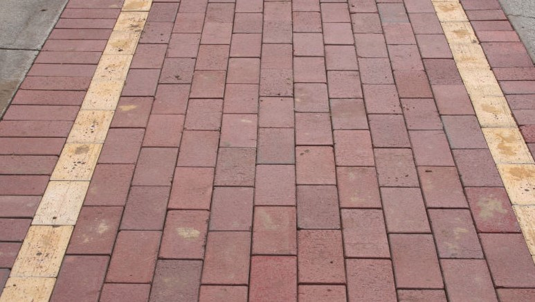 Cleaned Paver Stones
