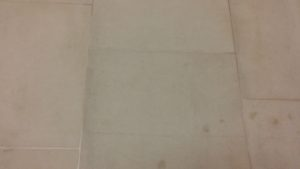 limestone grout and tile cleaning