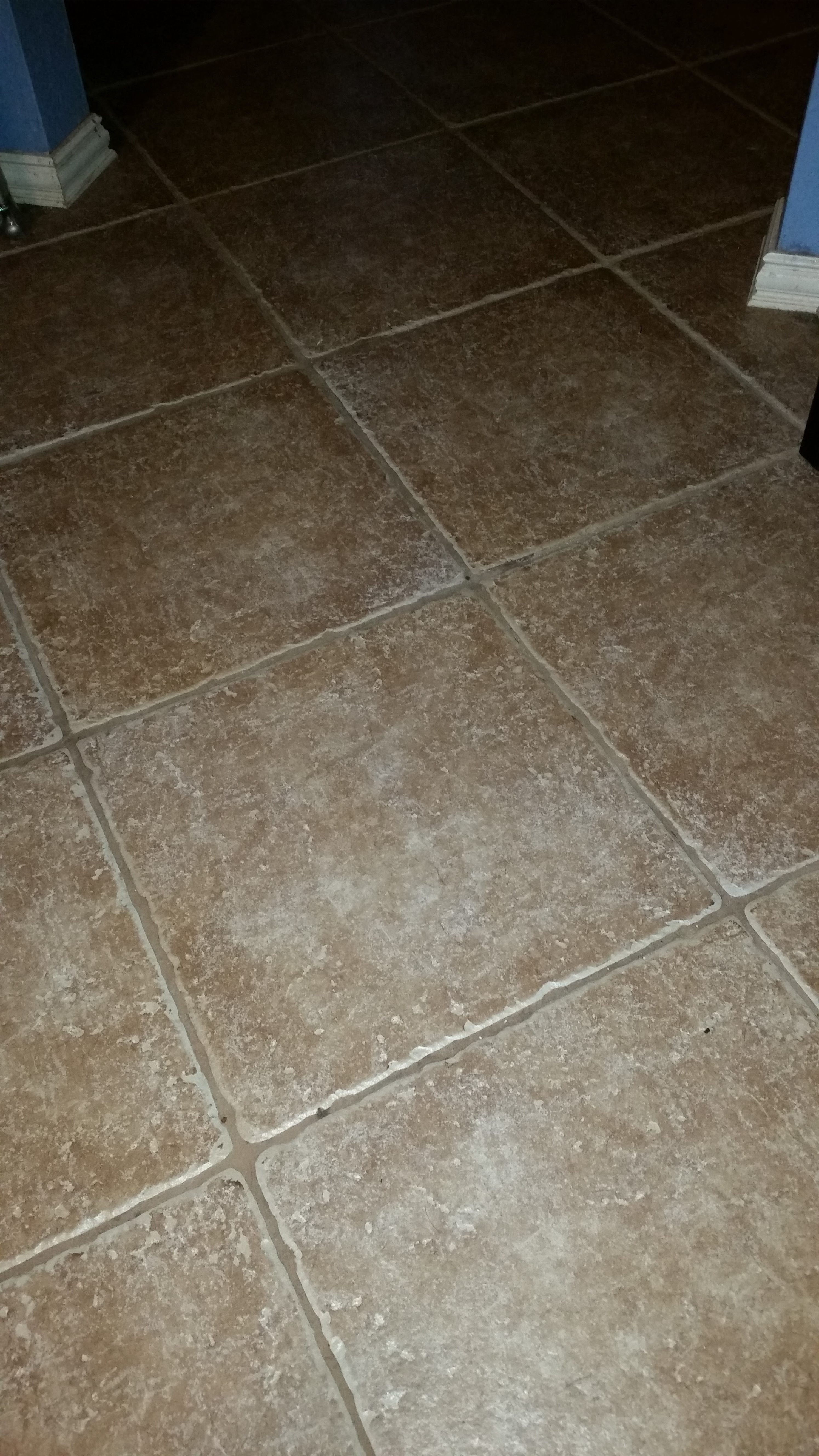 Clean Porcealain Tile and Grout